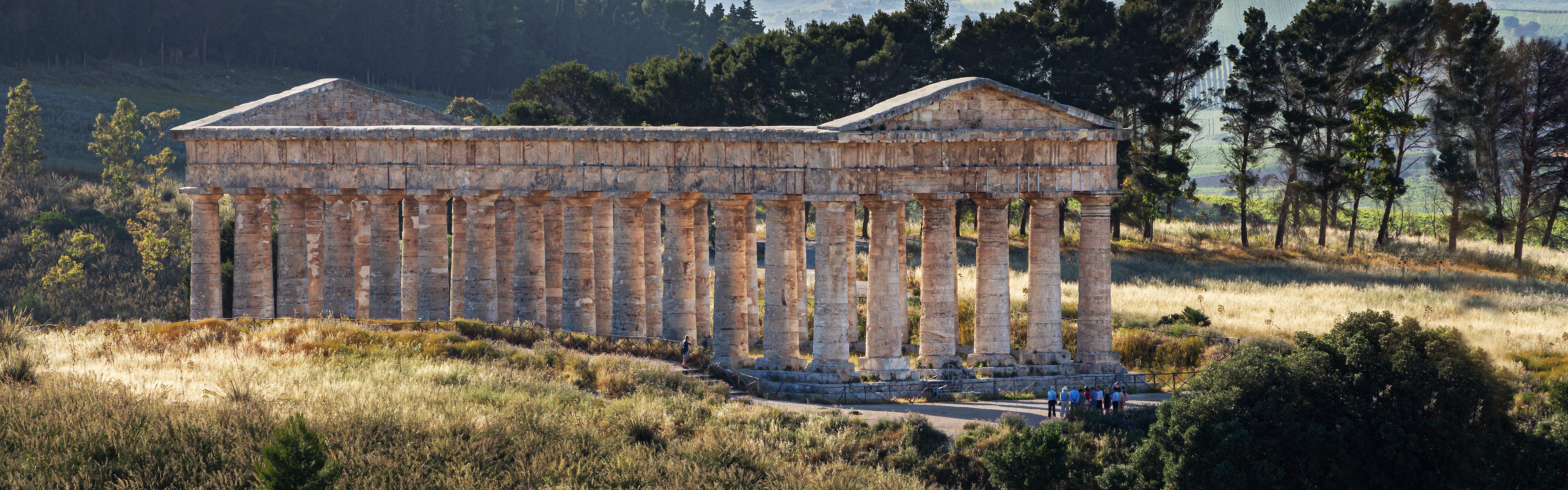 Greek Temple in Segesta, Sicily